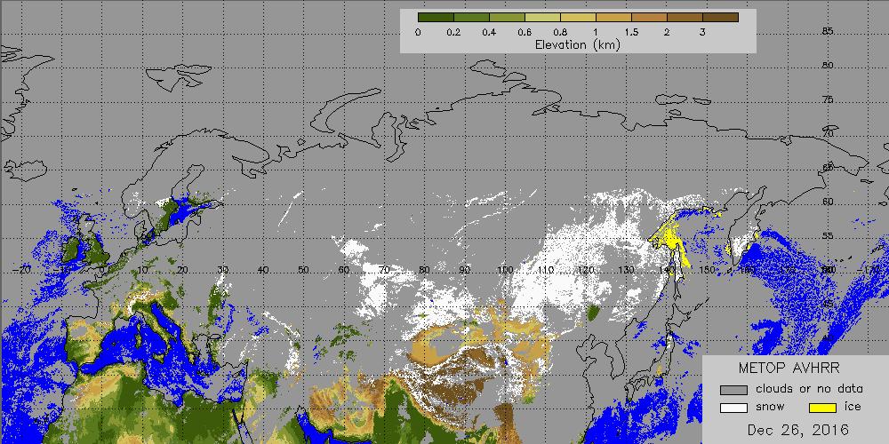 Copertura Nevosa Emisfero Nord Metop_avhrr_4km_ea_daily_snow_map_2016361
