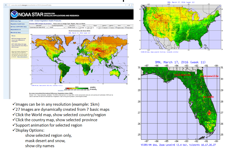 STAR - Global Vegetation Health Products : High resolution