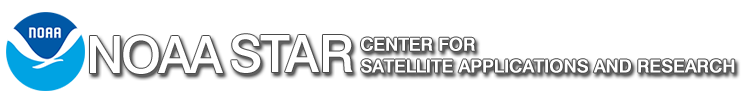 NOAA Center for Satellite Applications and Research banner